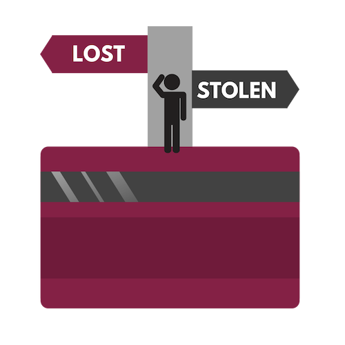 Lost or Stolen Credit Card Info